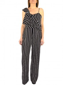 PALAZZO JUMPSUIT WITH STRIPED PATTERN Nota