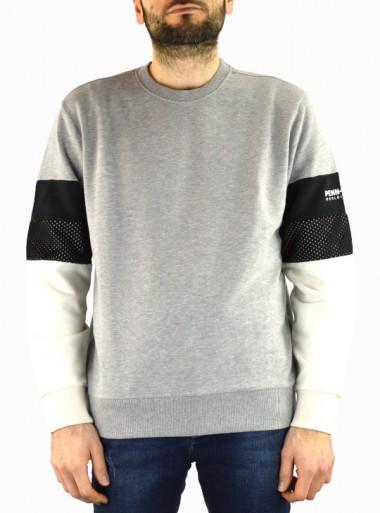 Penn-rich - Woolrich BASIC MESH CREW WYFEL0569 - Tadolini Abbigliamento