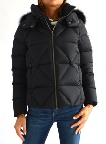 TOTAL BLACK DOWN JACKET