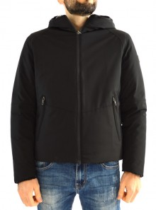 HOODED RESEARCH DOWN JACKET