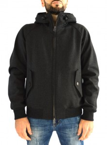 HOODED G9 TECH WOOL
