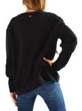 TwinSet FELPA CON PIETRE E PIUME 192TT2131 - Tadolini Abbigliamento