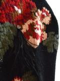 TwinSet MAXI CARDIGAN CON JACQUARD A FIORI E RICAMO 192TP3322 - Tadolini Abbigliamento