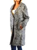 TwinSet CAPPOTTO IN PANNO PRINCIPE DI GALLES 192TT2102 - Tadolini Abbigliamento