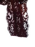 Vicolo CANOTTA CON PROFILI IN PIZZO - UM0008 - BS Tadolini Abbigliamento