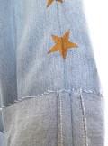 Vicolo JEANS A VITA ALTA CON STELLE LEVI'S VINTAGE DENIM - RM0155 - Tadolini Abbigliamento