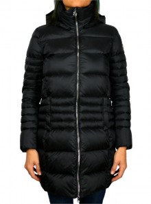 GLOSSY LONG DOWN JACKET