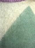 Kontatto MAGLIONE GIROCOLLO JACQUARD A ROMBI 3M5080 V09 - Tadolini Abbigliamento