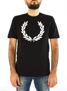 BLURRED LAUREL WREATH T-SHIRT