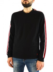 JUMPER WITH BANDS ON THE SLEEVES
