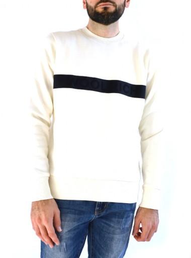 Woolrich LUXURY FLEECE CREW NECK - WOFEL1188 896 - Tadolini Abbigliamento