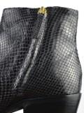 TwinSet STIVALETTI IN PELLE CON STAMPA ANIMALIER 192TCP10A - Tadolini Abbigliamento