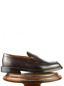 Doucal's PENNY LOAFER CRIMP - DU2528SIENUF087TM23 - Tadolini Abbigliamento