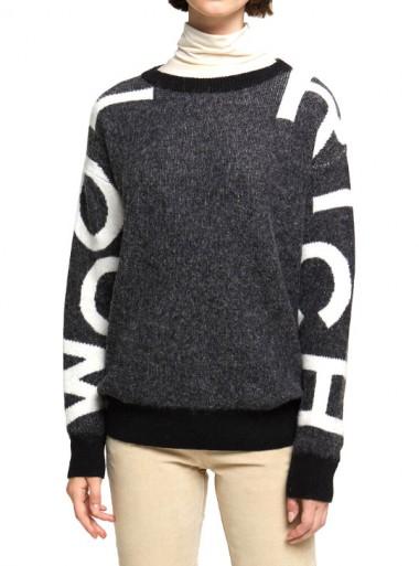 Woolrich LOGO CREW NECK - WWMAG1815 100 - Tadolini Abbigliamento