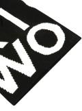 Woolrich PIQUET WOOL LOGO BEANIE HAT - WOACC1630 100 - Tadolini Abbigliamento