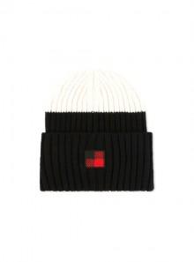 Woolrich COLOR BLOCK BEANIE HAT -  WWACC1459 1643 - Tadolini Abbigliamento
