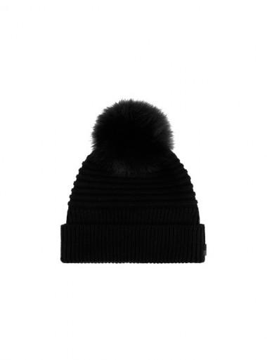 SOFT WOOL BEANIE HAT
