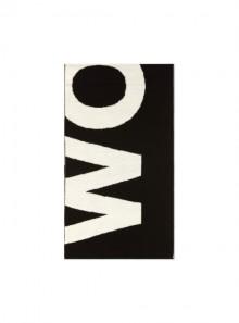 Woolrich PIQUET WOOL LOGO SCARF - WOACC1631 100 - Tadolini Abbigliamento