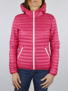 SLIM-FIT DOWN JACKET WITH HOOD