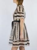 TWINSET Milano ABITO IN CREPONNE A RIGHE E FIORI - 201TP2306 - Tadolini Abbigliamento