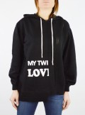 My Twin TWINSET MAXI MAGLIA CON LOGO - 201MP3210 - Tadolini Abbigliamento