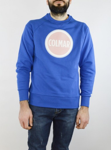 SWEATSHIRT WITH RUBBERISED PRINT