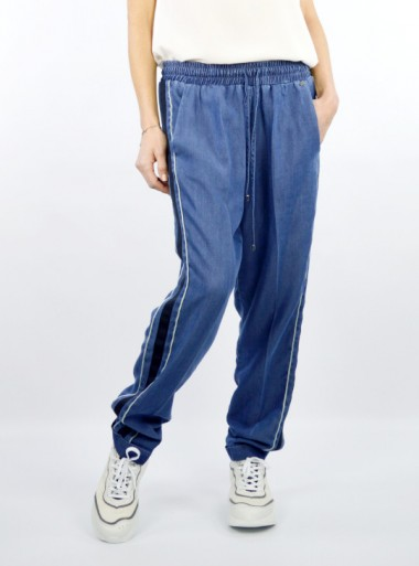 PANTS WITH SIDE BANDS Avidel