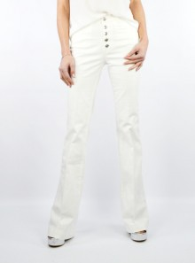 "HIGH WAIST TROUSERS WITH BUTTONS ""DASON"""