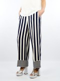 "STRIPED PALAZZO TROUSERS ""MAURICE"""