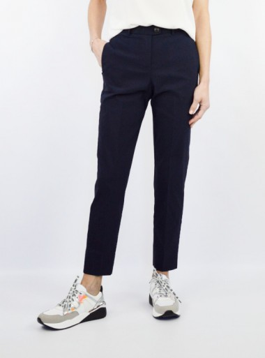 FITTED TROUSERS WITH POCKETS