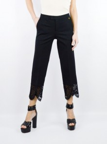 TROUSERS WITH LACE