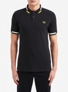 Fred Perry POLO ABSTRACT TIPPED - M8551 102 - Tadolini Abbigliamento
