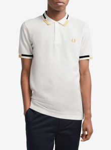 Fred Perry POLO ABSTRACT TIPPED - M8551 129 - Tadolini Abbigliamento
