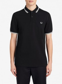 Fred Perry TWIN TIPPED FRED PERRY POLO SHIRT - M3600 524 - Tadolini Abbigliamento