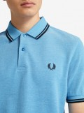 Fred Perry TWIN TIPPED FRED PERRY POLO SHIRT - M3600 J76 - Tadolini Abbigliamento