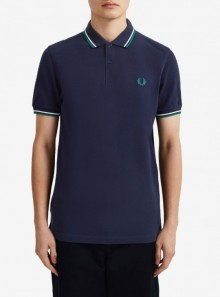 Fred Perry TWIN TIPPED FRED PERRY POLO SHIRT - M3600 J79 - Tadolini Abbigliamento