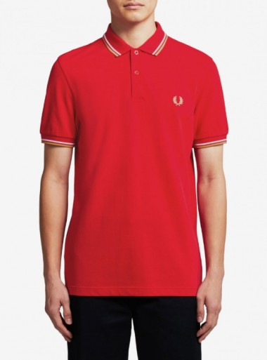 TWIN TIPPED FRED PERRY POLO SHIRT