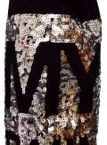 My Twin TWINSET T-SHIRT CON PANNELLO LOGO IN PAILLETTES - 201MP235C 00006 - Tadolini Abbigliamento