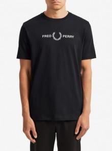 Fred Perry T-SHIRT CON STAMPA GRAFICA - M7514 102 - Tadolini Abbigliamento
