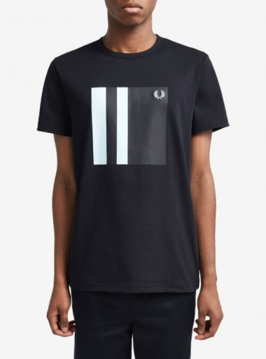 TIPPED GRAPHIC T-SHIRT