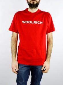 Woolrich LOGO T-SHIRT - CFWOTE0024MRUT1486 5405 - Tadolini Abbigliamento