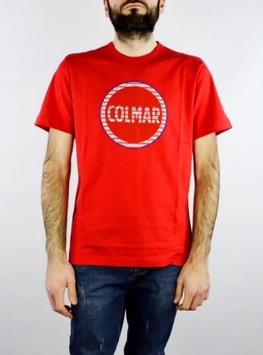 Colmar T-SHIRT IN COTONE CON MAXI LOGO - 7569 193 - Tadolini Abbigliamento