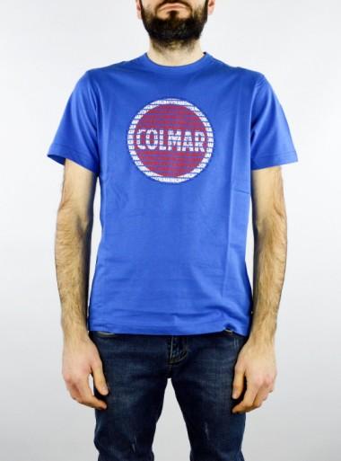 Colmar T-SHIRT IN COTONE CON MAXI LOGO - 7569 458 - Tadolini Abbigliamento