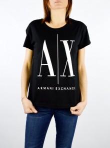 AX Armani Exchange T-SHIRT BOYFRIEND FIT CON MAXI LOGO - 8NYTCX-YJG3Z 1200 - Tadolini Abbigliamento