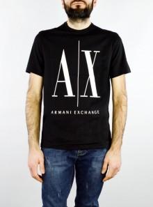 AX Armani Exchange T-SHIRT GIROCOLLO REGULAR FIT CON MAXI LOGO - 8NZTPA-ZJH4Z 1200 - Tadolini Abbigliamento