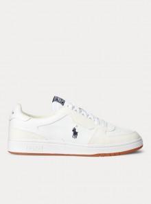 Polo Ralph Lauren SNEAKERS COURT IN PELLE - 809800457001 - Tadolini Abbigliamento